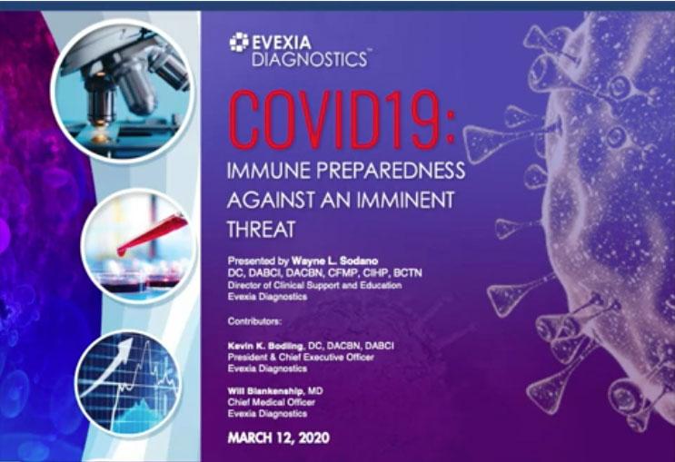 COVID-19: Immune Preparedness Against An Imminent Threat