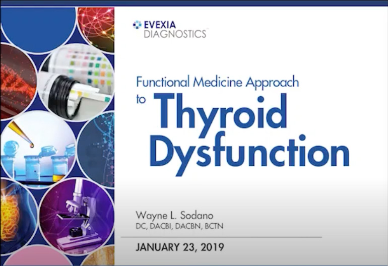 Functional Medicine Approach To Thyroid Dysfunction