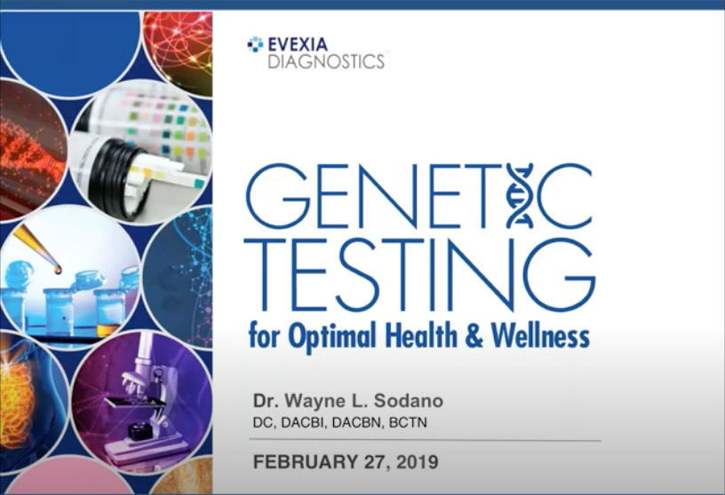 Genetic Testing For Optimal Health & Wellness