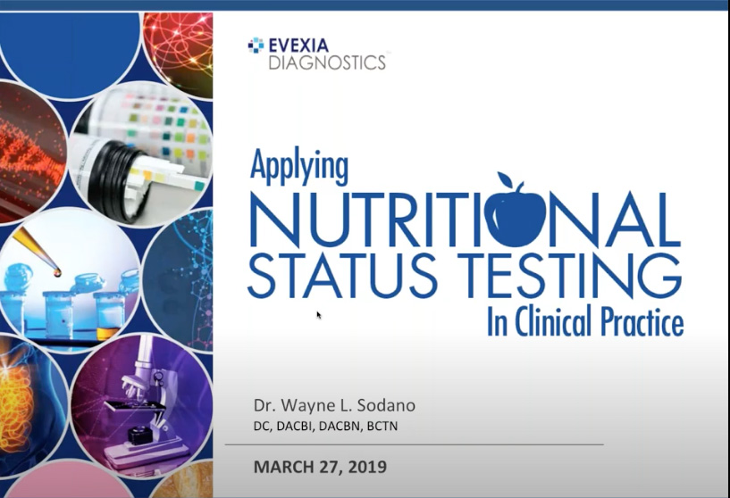 Applying Nutritional Status Testing In Clinical Practice