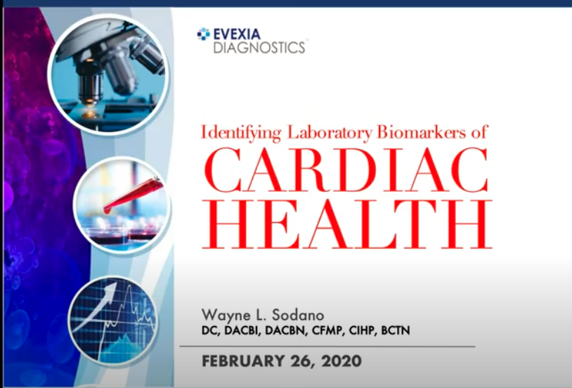 Identifying Laboratory Biomarkers of Cardiac Health