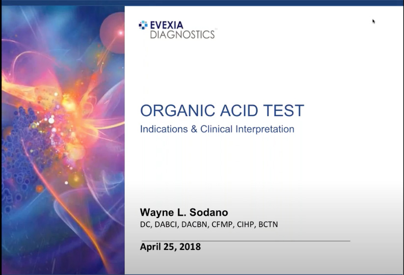 Organic Acid Test: Indications & Clinical Interpretation